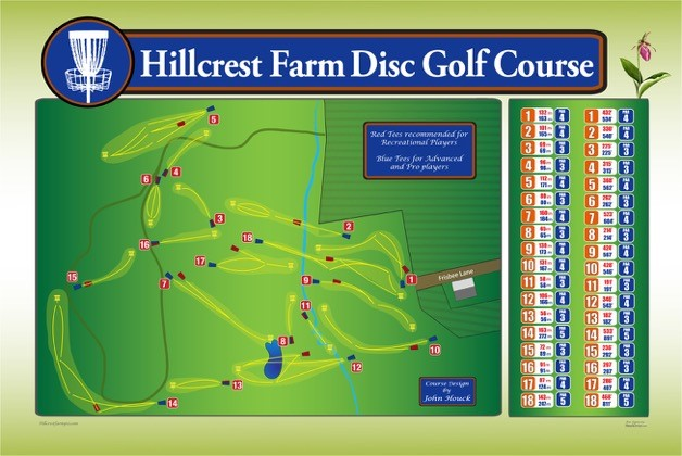Hillcrest Farm Disc Golf Course
