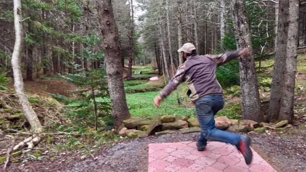 CBC News: Disc Golf, by Tom Steepe